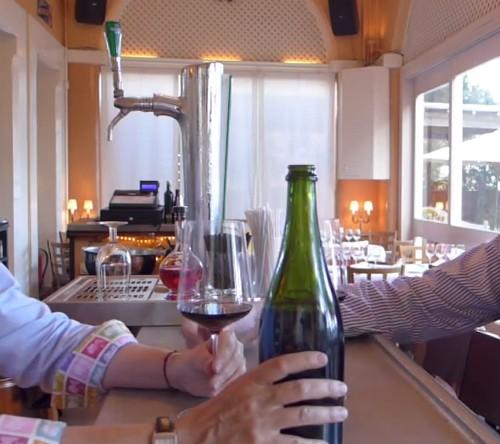 Carlos Orta cata Jequé 2007 Vinos Compartidos