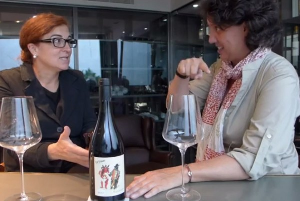 Montse Lao cata Le Franc 2007 Vinos Compartidos