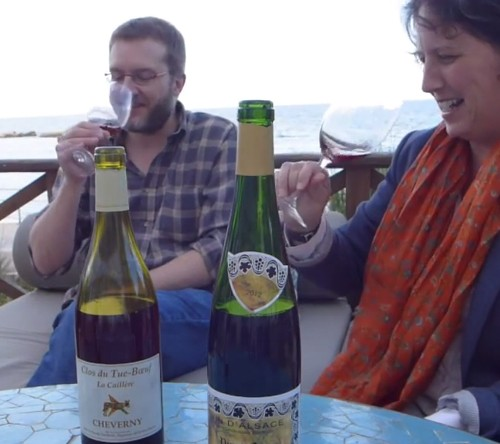 Rafa Peña cata Pinot Noir Shueller 2012 Vinos Compartidos