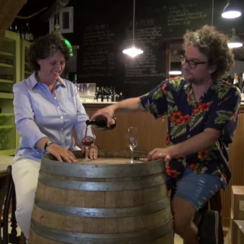 Cata de vino con Banoît Valée